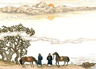Adios at Yangguan (阳关三叠, Yang Guan San Die,Guqin, 古琴)
