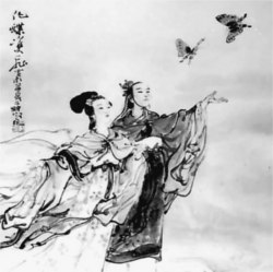 The Butterfly lovers (梁祝古筝曲, Liang Zhu, Guzheng, 古筝)